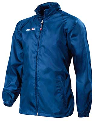 Macron Atlantic rain jacket navy