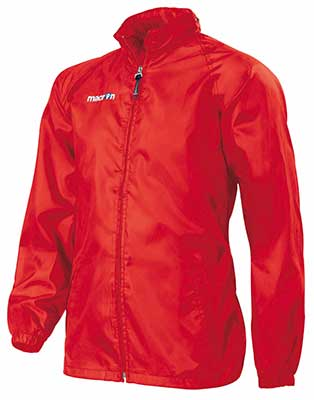 Macron Atlantic rain jacket red