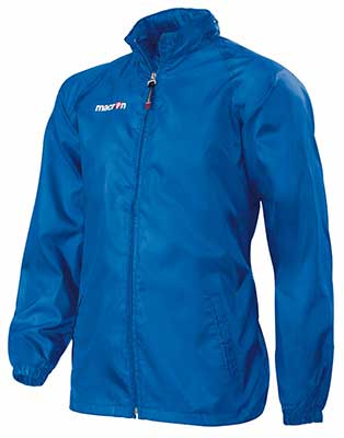 Macron Atlantic rain jacket royal