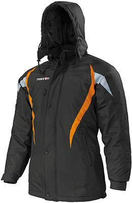 macron squire jacket black Orange