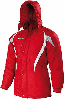macron squire jacket red