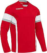 Macron Ambition training top Red-White