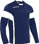 Macron Ambition training top navy-white