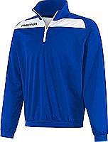 Macron Nile Training Top Royal-white