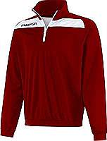 Macron Nile Training Top Maroon/White