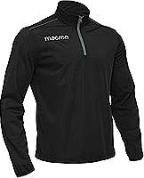 Macron Iguazu training Top Black