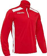 Macron Tarim Training Top Red-White