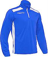 Macron Tarim Training Top Royal-White