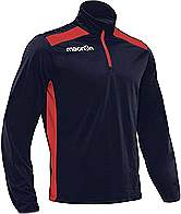 Macron Tarim Training Top Navy-Red