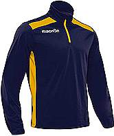 Macron Tarim Training Top Navy-Yellow