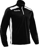 Macron Tarim Training Top Black-White