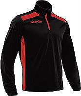 Macron Tarim Training Top Black-Red