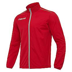 Macron Niagara Track jacket Red