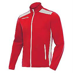 Macron NIXI Track Jacket Red-White