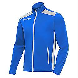 Macron NIXI Track Jacket Royal/White