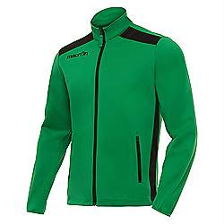 Macron NIXI Track Jacket Green-Black