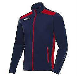 Macron NIXI Track Jacket Navy-Red