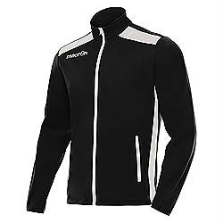 Macron NIXI Track Jacket Black-White