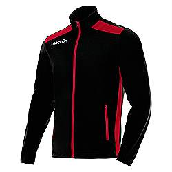Macron NIXI Track Jacket Black-Red