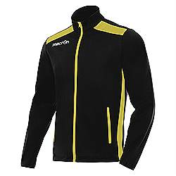 Macron NIXI Track Jacket Black-Yellow