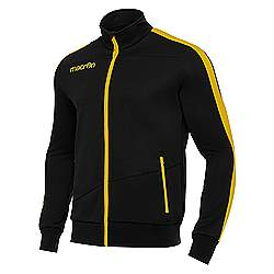 Macron OPI Track Jacket Black-Yellow