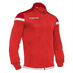 Macron SOBEK Track jacket Red-White