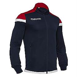 Macron SOBEK Track jacket Navy-Red-White