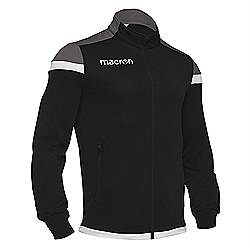 Macron SOBEK Track jacket Black-white