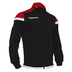 Macron SOBEK Track jacket Black-Red
