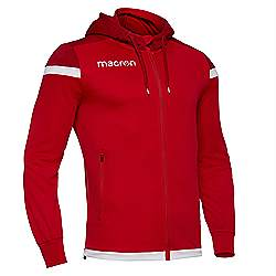 Macron Eadesy track top Red