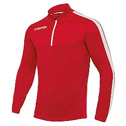 Macron Talent top Red