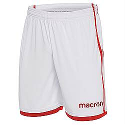 Macron Algol shorts white-red