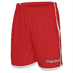 Macron Algol shorts red-white