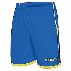 Macron Algol shorts Royal-Yellow