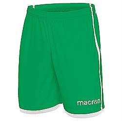 Macron Algol shorts Green-white