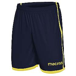 Macron Algol shorts Navy-yellow
