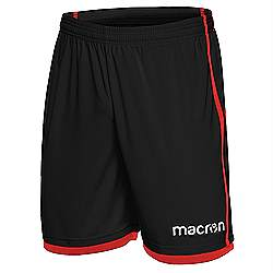 Macron Algol shorts Black-Red