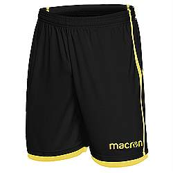 Macron Algol shorts Black-yellow