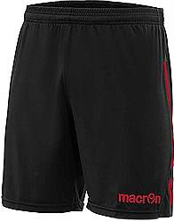 Macron Elbe shorts Black-red