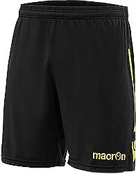Macron Elbe shorts Black/Yellow