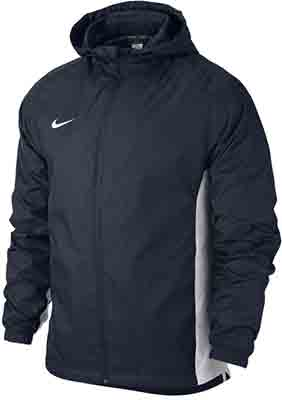 Nike Academy rain jacket black-white