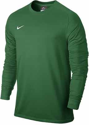 a18967b444e Matt Silver Black Pine Green Electric Green Uni Gold Back View Total  Orange/Black The Nike Park Goalie II Jersey with Dri-FIT technology is  crafted for you ...