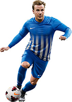 Nike Striped Division football kit