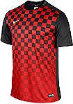 Nike Precision III jersey short sleeve red-black