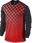 Nike Precision III jersey long sleeve red