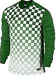 Nike Precision III jersey long sleeve green
