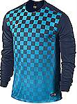 Nike Precision III jersey long sleeve blue