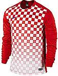 Nike Precision III jersey long sleeve red-white
