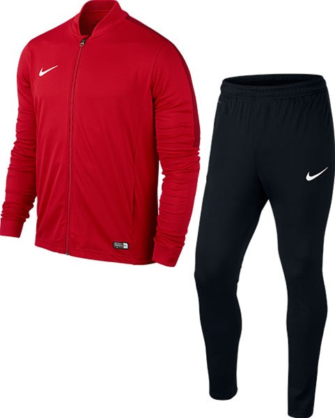 nike tracksuit red