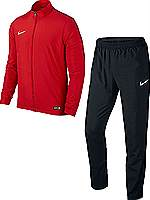 Nike Academy 16 woven tracksuit red-black